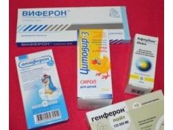 Обзор детских противовирусных препаратов