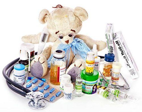 лекарства ребенку на море