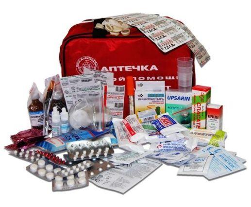аптечка скорой помощи