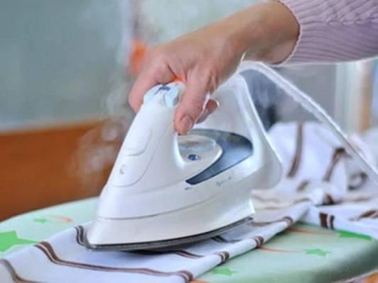 утюжить белье