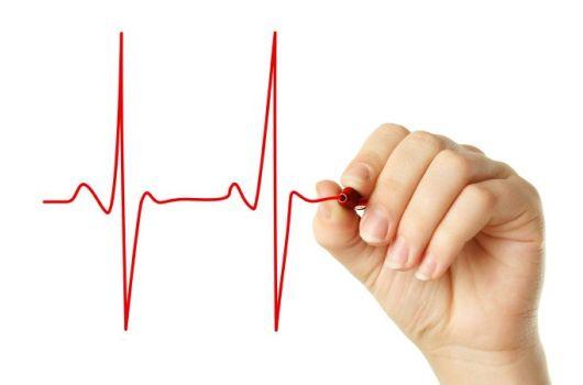 кардиограмма от руки