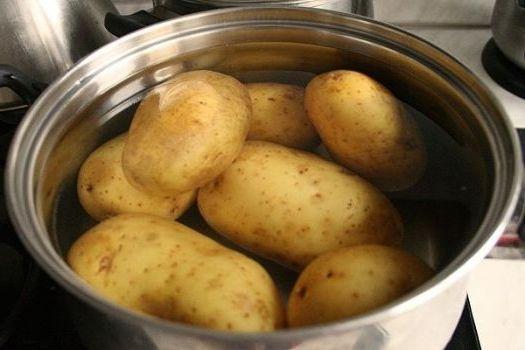 компресс с картофелем