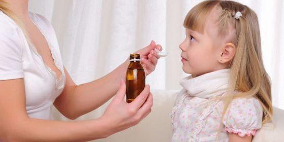отхаркивающее средство для детей