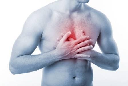 острые боли в груди
