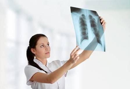 обследование легких на рентген снимке