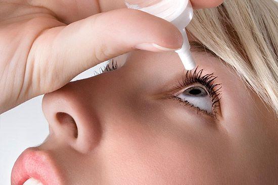 лечение аллергического конъюнктивита каплями