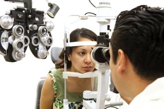обследование черных точек у врача окулиста