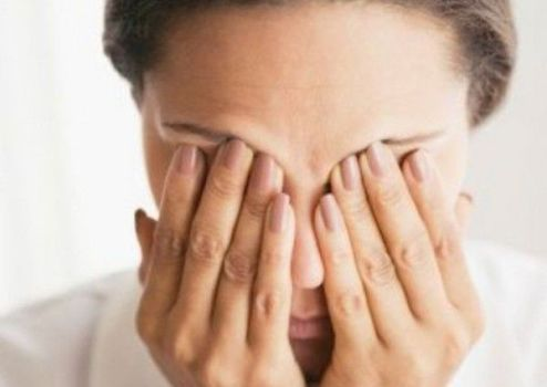 побочные расстройства глаз