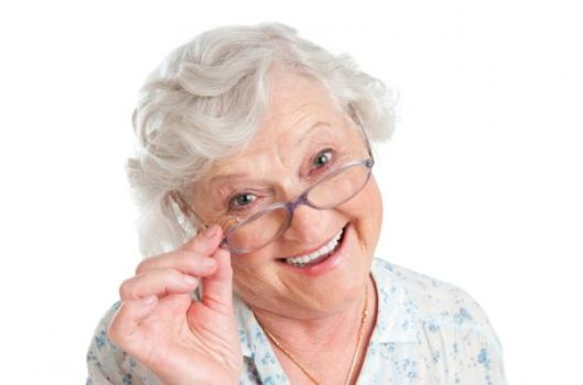 старость с хорошим зрением