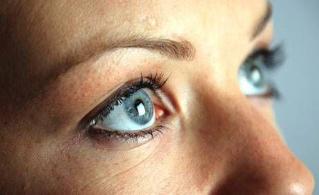 глаза с нормальным давлением