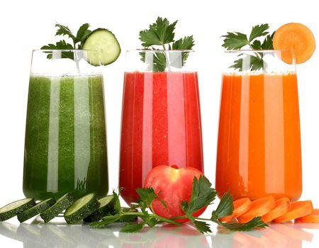 натуральные соки из моркови клубники
