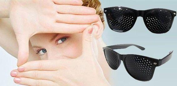 кому рекомендованы очки в дырочку