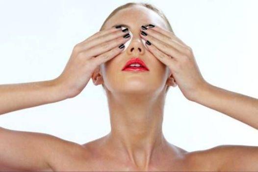 промывание глаз растворами