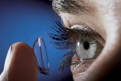 совместимость с контактными линзами