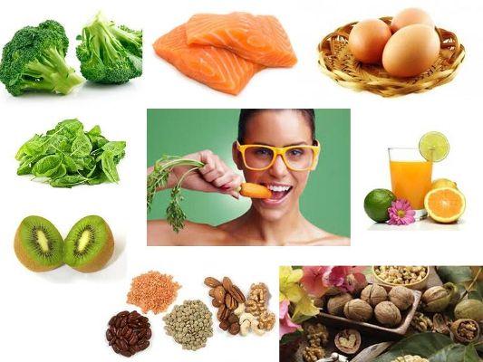 продукты питания улучшающие зрение