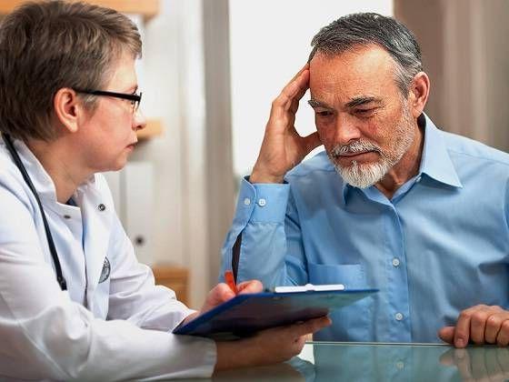 обращение к врачу с нарушением памяти