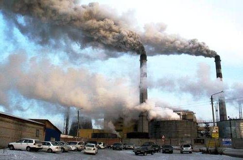 плохая экология в городе
