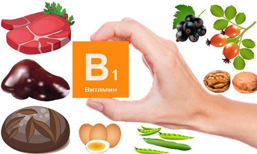 в чем содержится витамин б1