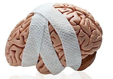 мозг в бинте