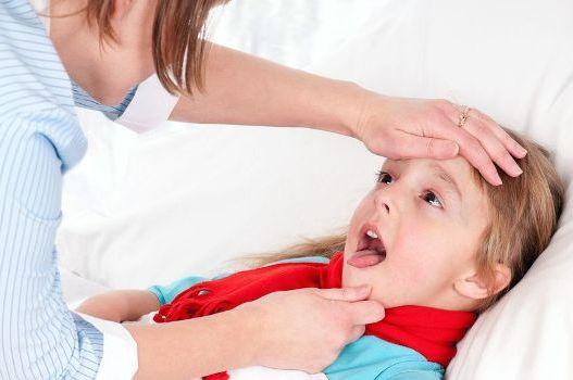 ребенок заболел ангиной