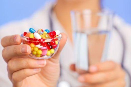 возьмите лекарства