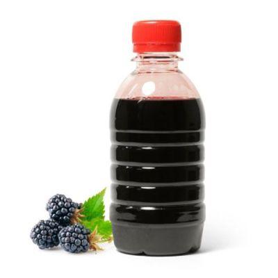 бутылка сока ежевики