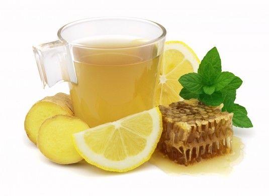 напиток лимон имбирь мед мята