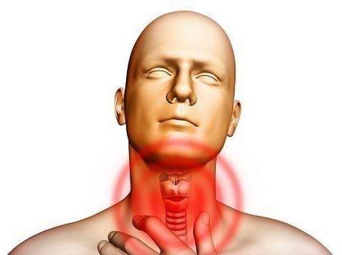раздражение и боль в горле