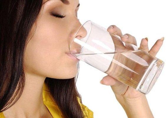 попить чистой воды