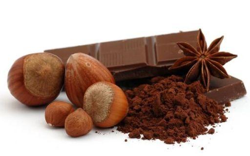 орехи и какао