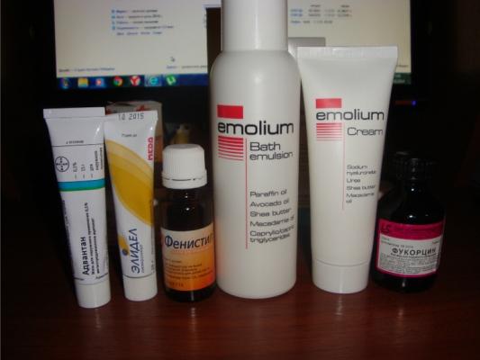 препараты от дерматита