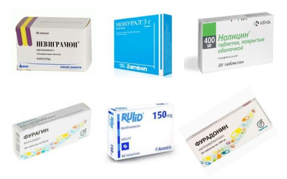 препараты для лечения цистита