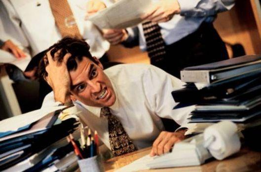 раздражительное состояние на работе