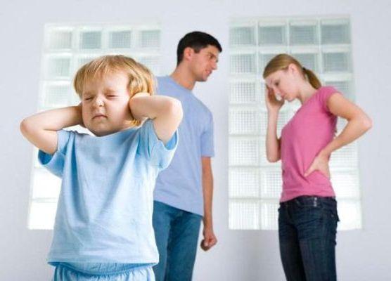 нездоровый климат в семье
