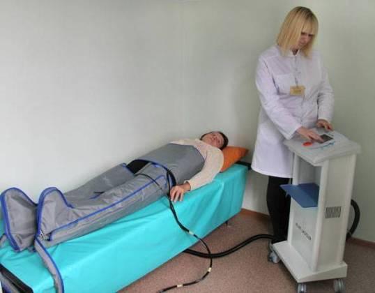 физиотерапевтическое лечение гангрены