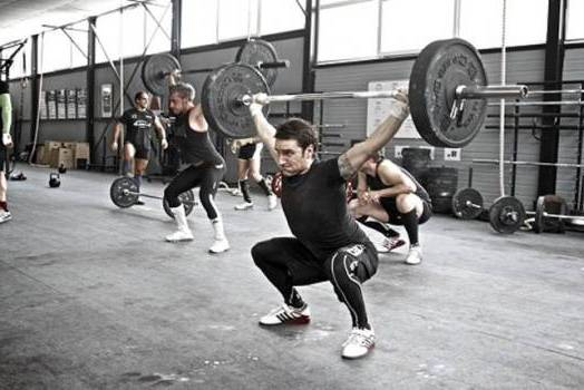 тяжелая тренировка