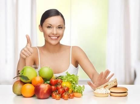 выбрать полезную пищу
