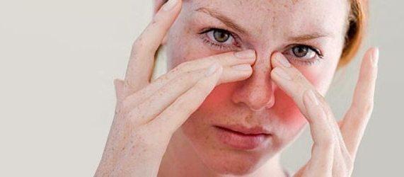 распирание пазух носа