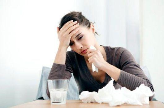 нос заложен и простуда