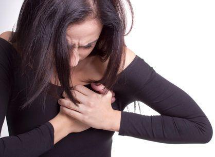 ощущение болезненности в области сердца