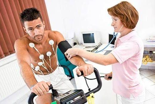 занятие на кардиотренажере