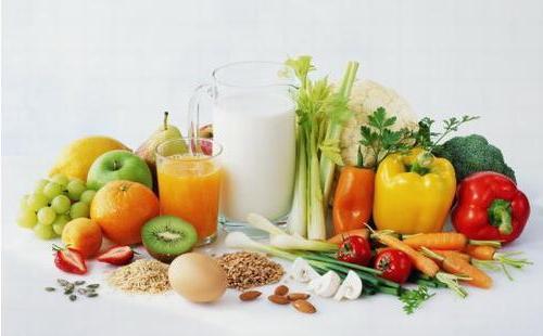 только свежие овощи