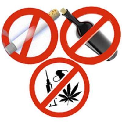 вредные привычки и наркотики