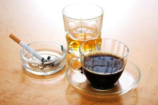 коньяк кофе сигареты