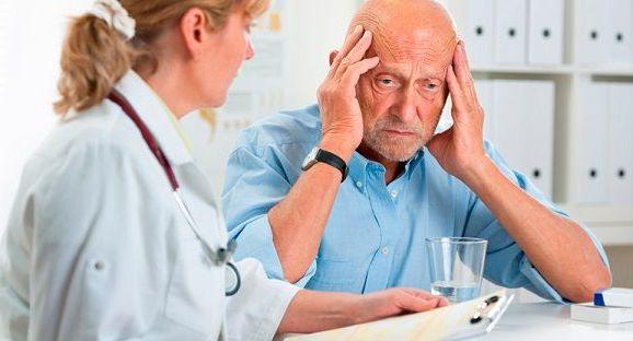 болит голова у старика