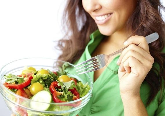 свежее питание овощами