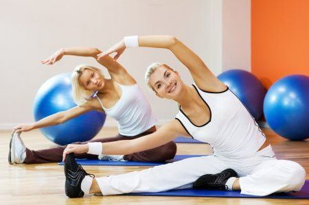 аэробика фитнес