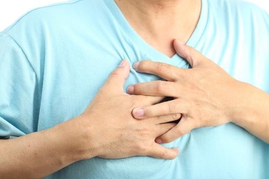 потуги в груди