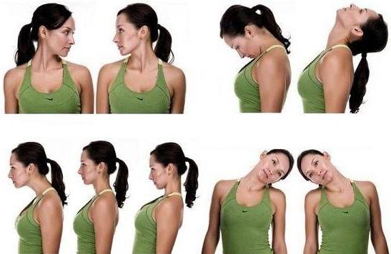 упражнения при цервикокраниалгии