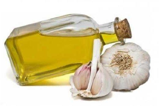 чеснок с оливковым маслом
